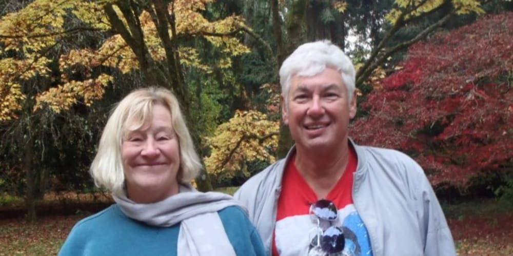 Volunteering Story of the Month - Max and Helen
