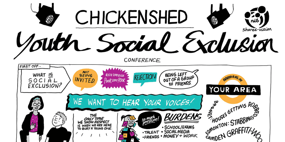 Youth Social Exclusion Conference Illustration